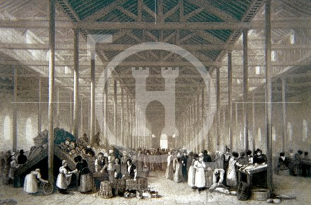 Interior of St John's Market