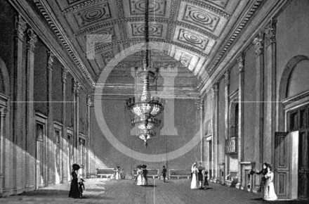 The Ballroom, Town Hall, in the early 1830s