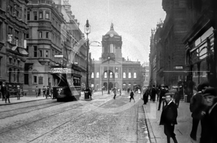 Castle Street and the Town Hall, c 1902