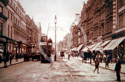 Lord Street, looking towards Castle Street, c 1902