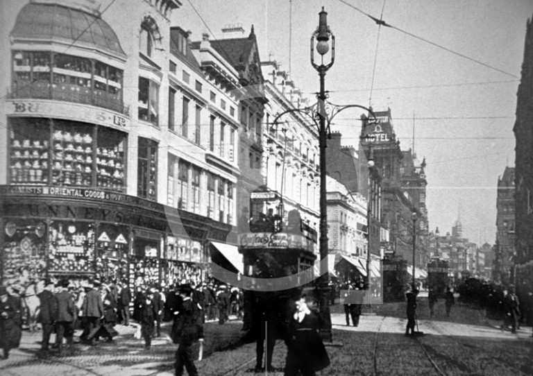 Church Street, looking towards Central Station, c 1902