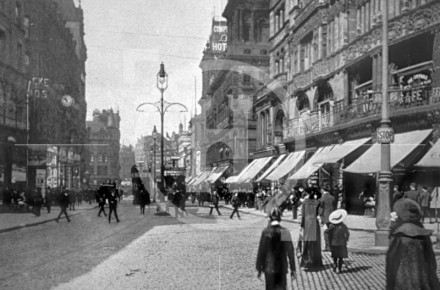 Church Street, looking towards Whitechapel, c 1902