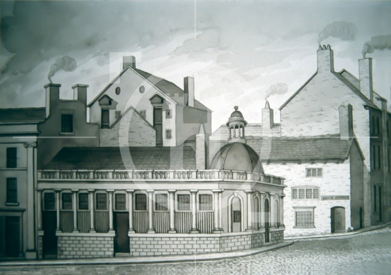 General market, formerly the Fish Market, James Street, 1830