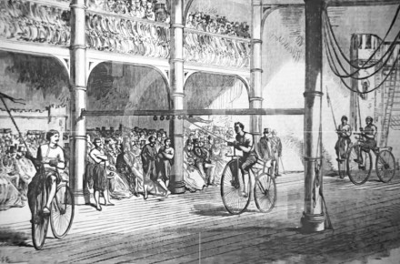 Bicycle Tournament Liverpool Gymnasium, Myrtle Street