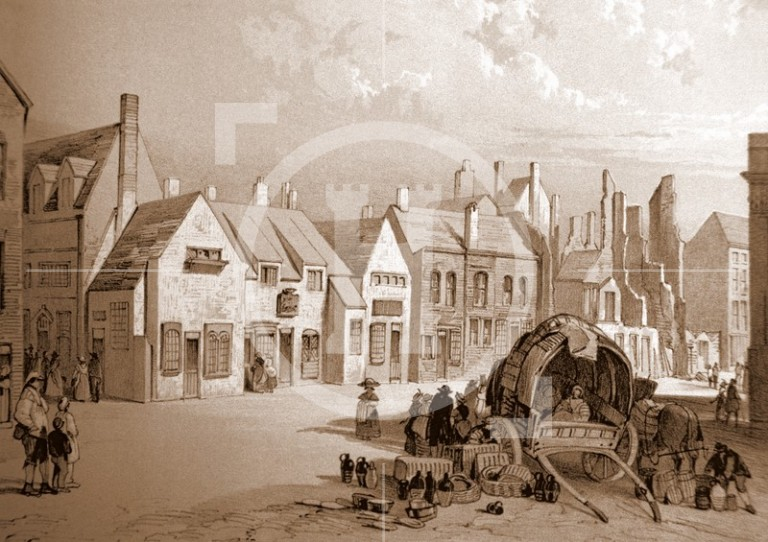 High Street in 1802
