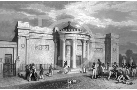 The Wellington Rooms, Mount Pleasant, 1828