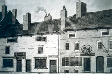 Jones Eating House, Dale Street, 1830
