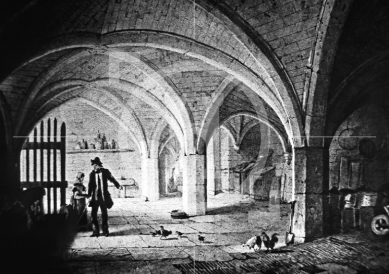 Birkenhead Priory; The Crypt, interior