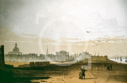 Liverpool from the north shore, 1790