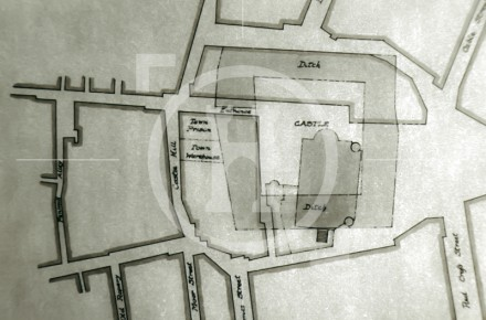 Liverpool Castle Plan, c 1780