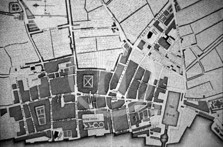 Plan of Liverpool, 1725