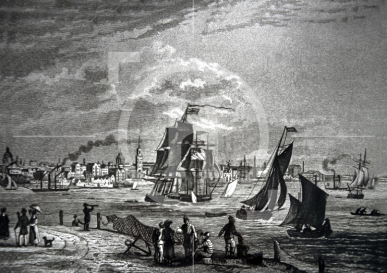 View of Liverpool, c1840