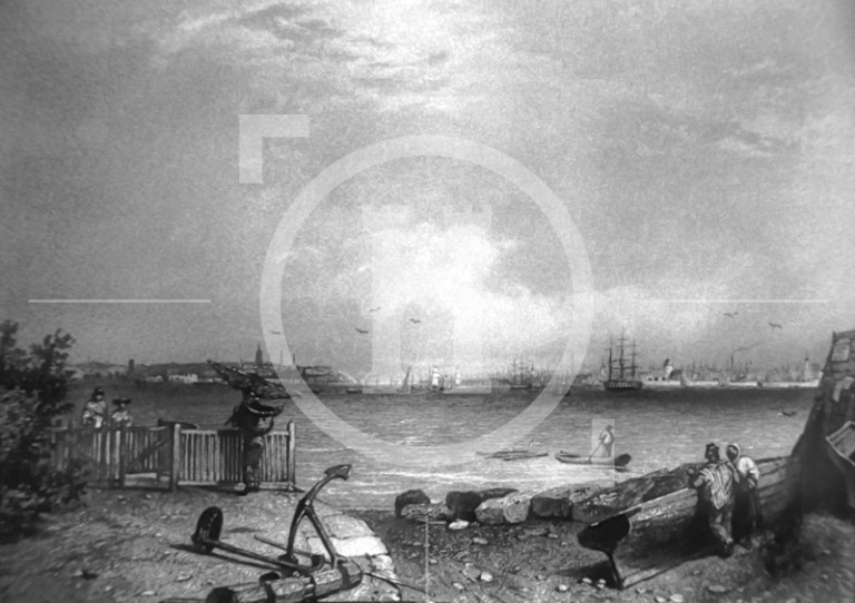 View of Liverpool, c1860s