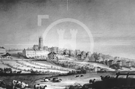 Everton from Great Mersey Street, 1818