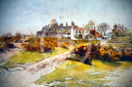 Bidston Hill and Observatory, 1907