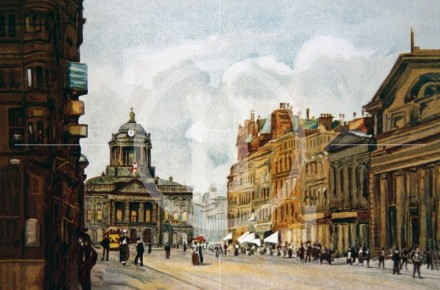 Castle Street and Town Hall, 1910