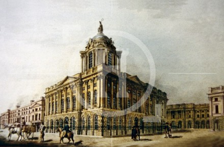 Liverpool Town Hall, c1825