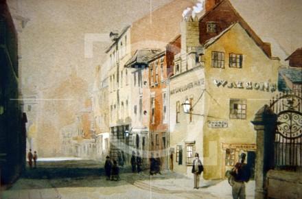 School Lane, 1857