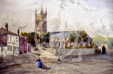 Walton Church, 1867
