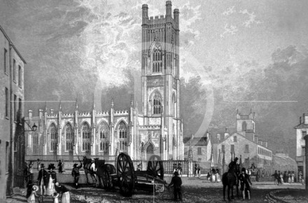 View of St Luke's Church, which was opened ...