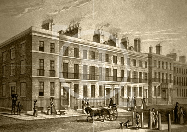 Abercromby Square, c 1835