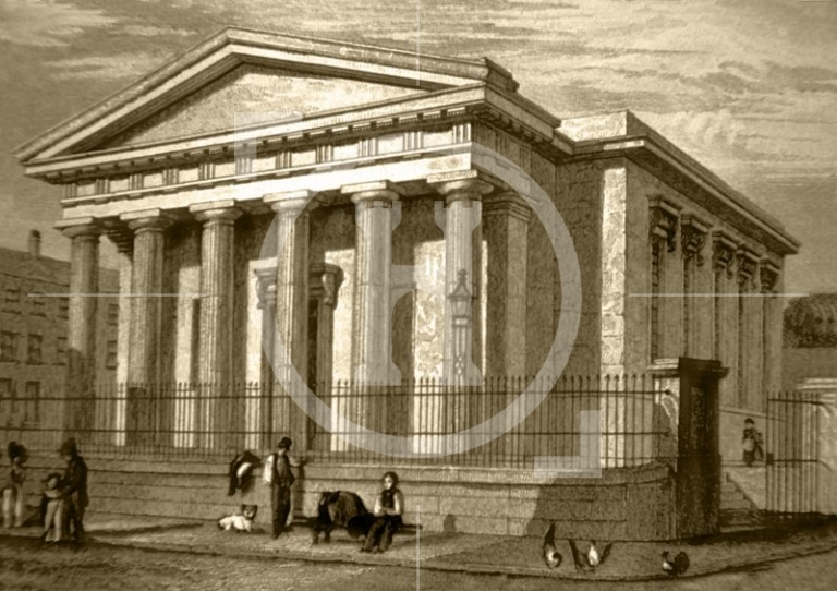 Church of the School for the Blind, Duncan Street, c 1835