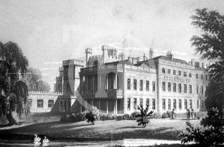 Knowsley Hall, c1830