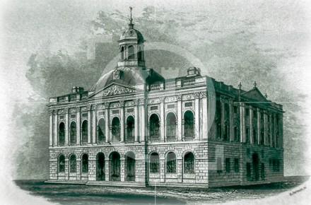 Liverpool's third Town Hall - before the fire ...