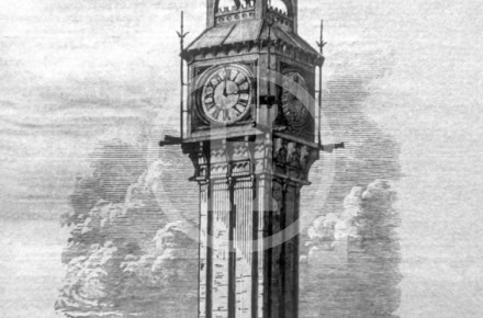 Clock Tower at the North Haymarket