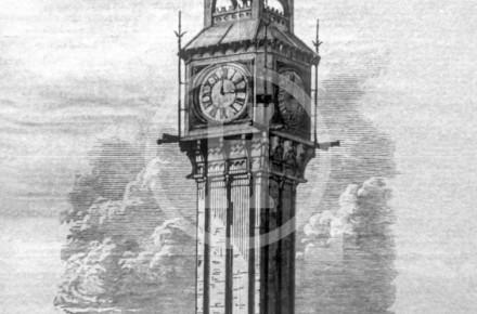 Clock Tower at the North Haymarket