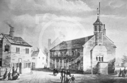 Old West Derby Church, 1860