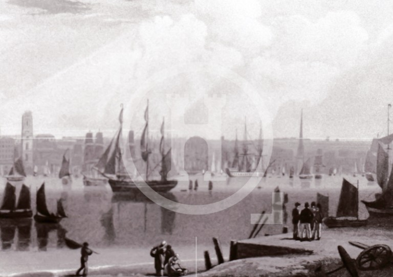 View of Liverpool from Wirral c.1780