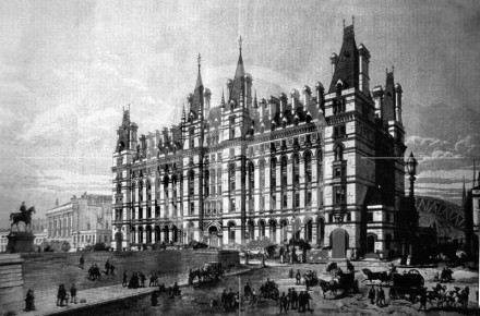 New Railway Hotel at Lime Street Station