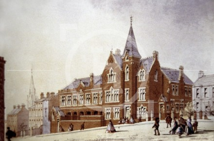 Wesleyan School, Low Hill, 1862