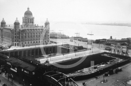 View of the Pier Head, 10 June 1907
