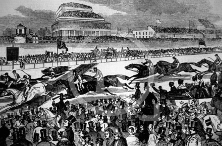Grand National Steeple-Chase held end February 1844